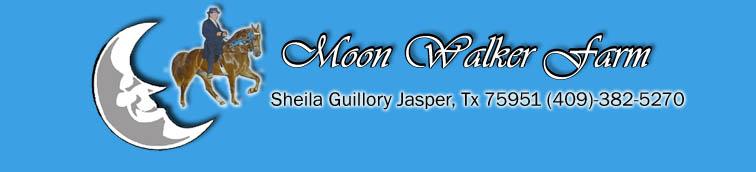 MoonWalker Horse Show Athens , TX