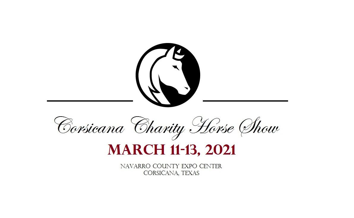Corsicana Charity Horse Show white